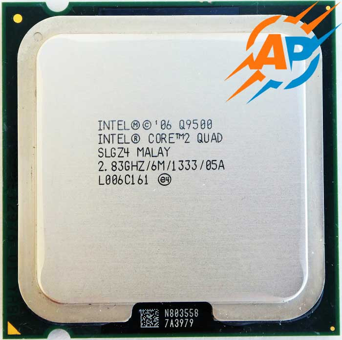 Процесcор Intel Core 2 Quad Q9500 SLGZ4 2.83GHz/12MB/1333MHz Socket 775