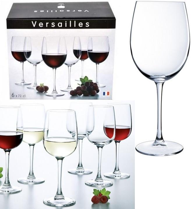 Versailles Бокалы для вина 720 мл - 6 шт Luminarc N1041