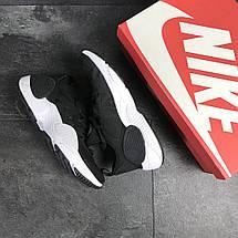 Мужские кроссовки Nike Air Huarache E.D.G.E,сетка,черно-белые, фото 2