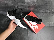 Мужские кроссовки Nike Air Huarache E.D.G.E,сетка,черно-белые, фото 3