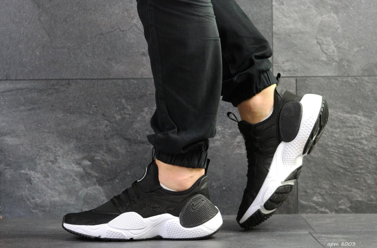 Мужские кроссовки Nike Air Huarache E.D.G.E,сетка,черно-белые