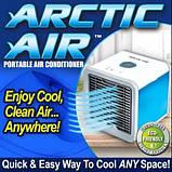 Мобильный кондиционер Arctic Air LED ночник 7 цветов охладитель воздуха портативный с питанием от USB, фото 2