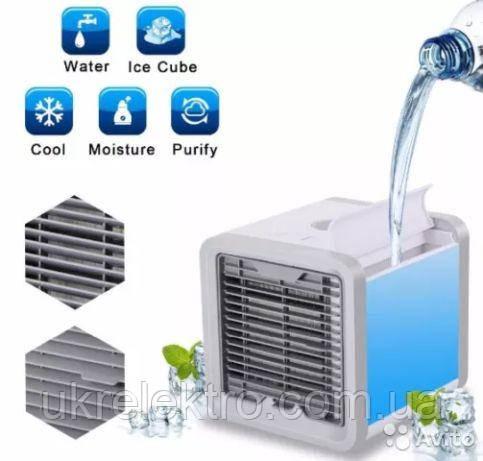 Мобильный кондиционер Arctic Air LED ночник 7 цветов охладитель воздуха портативный с питанием от USB