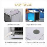 Мобильный кондиционер Arctic Air LED ночник 7 цветов охладитель воздуха портативный с питанием от USB, фото 3