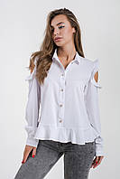 Блузка K&ML 496 белый 44, фото 1