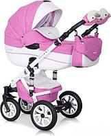 Детская универсальная коляска 2 в 1 Riko Brano ecco 18 Baby Pink