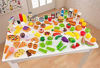 Набор еды Вкусное удовольствие 115 элемента KidKraft 63330