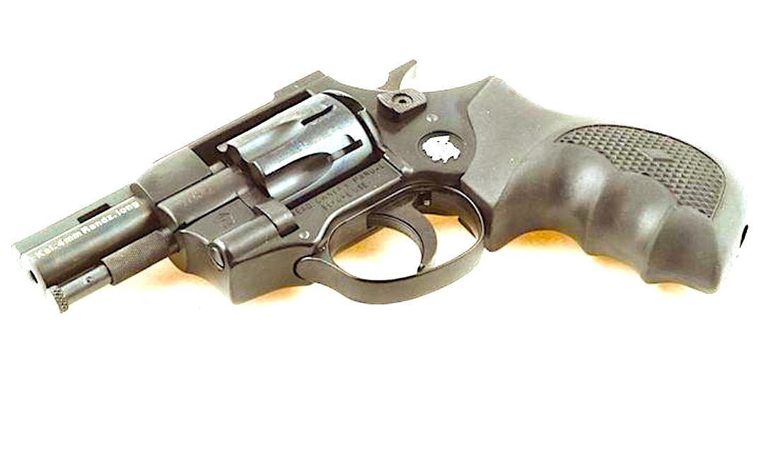 Weihrauch  револьвер Флобера HW4 2,5' (пластик)
