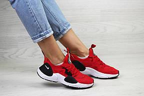 Женские красные кроссовки Nike Air Huarache E.D.G.E, сетка , фото 2