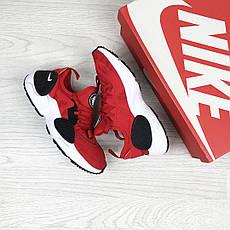 Женские красные кроссовки Nike Air Huarache E.D.G.E, сетка , фото 3