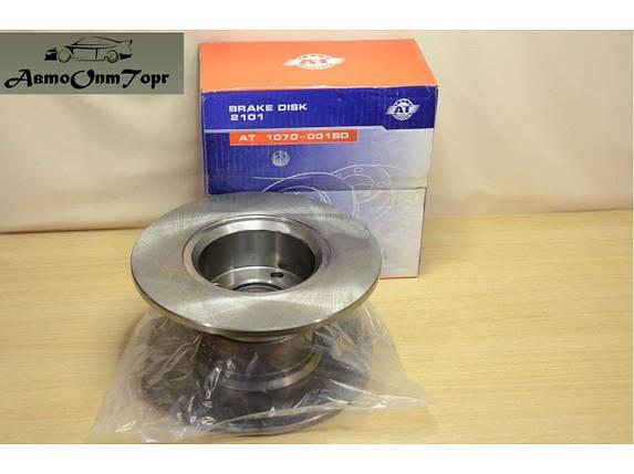 Тормозной диск  ВАЗ 2101, 2102, 2103, 2104, 2105, 2106, 2107 AT(комплект), фото 2