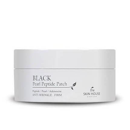 Гидрогелевые патчи для кожи вокруг глаз с черным жемчугом и пептидами The Skin House Black Pearl Peptide Patch, фото 2