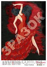 Схема для вышивки бисером Фламенко А4 ЮМА-4165