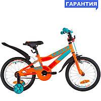 """Велосипед 16"""" Formula RACE 2019 (оранжево-бирюзовый)"""
