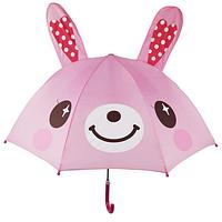 """Детский зонтик 3D ушки """"Зайка"""""""