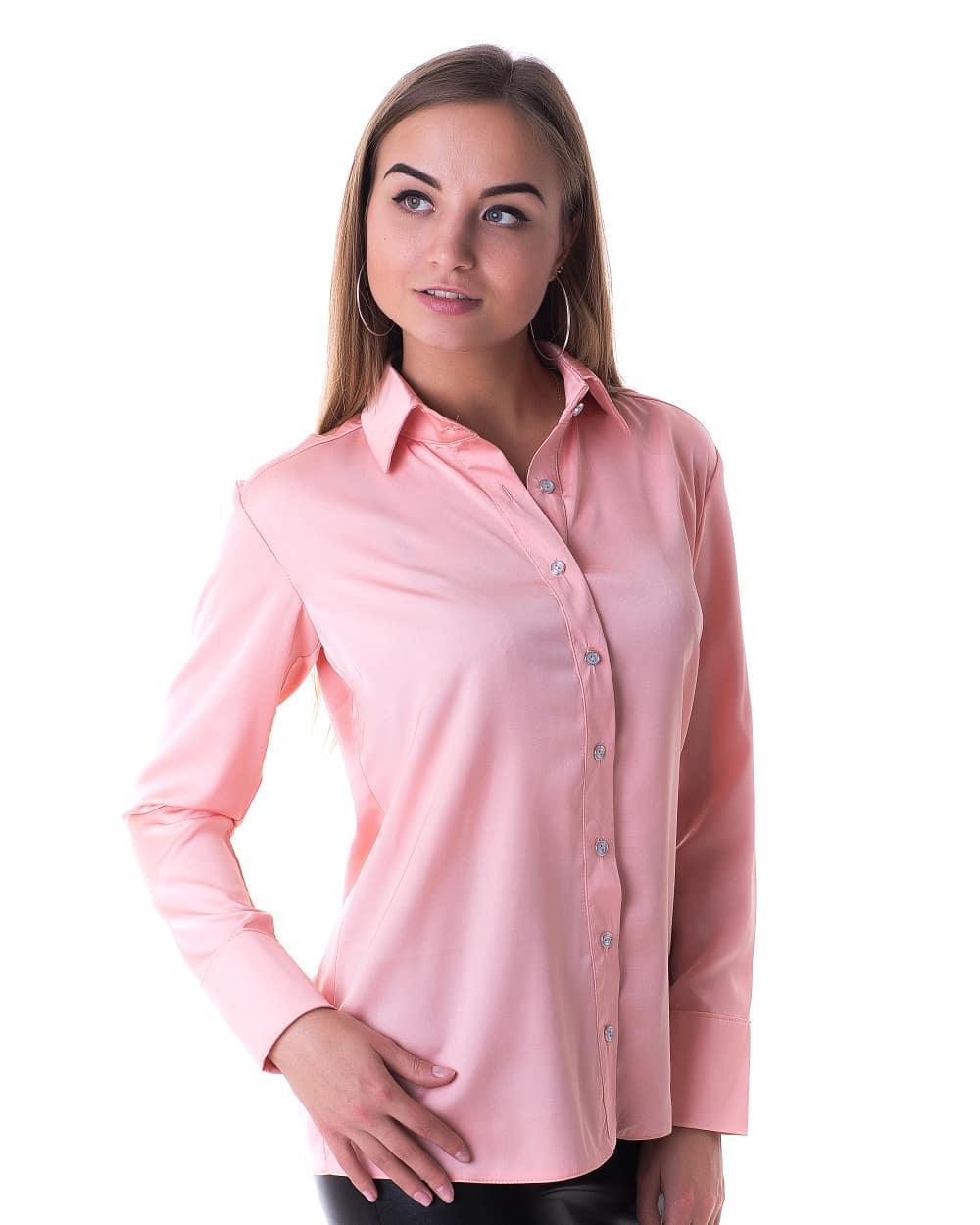Блузка K&ML 479 розовый 44