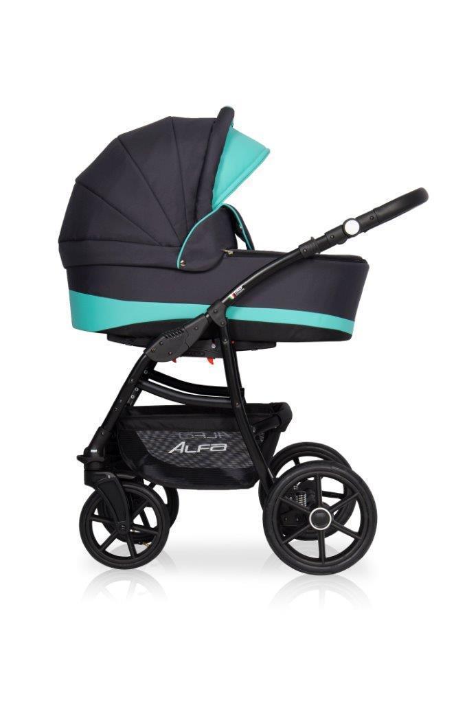 Детская универсальная коляска 2 в 1 Riko Alfa Ecco 04