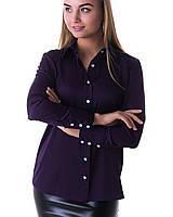 Блузка K&ML 479 фиолетовый 44