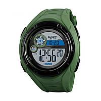 Мужские часы - Skmei Compare Green (5 bar), фото 1