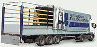 Механизм сдвижной крыши в комплекте. Длина 5,86-6,429 метра.