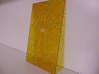 Скло для дверей Дельта жовта