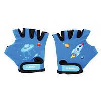Детские перчатки для самоката/велосипеда Globber 528-100