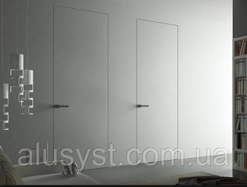 Двери скрытого монтажа под коробку 2300х900, полотно