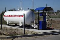 Газовый модуль (с двухрукавной колонкой)