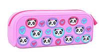 """531951 Пенал силиконовый YES """"Lovely panda"""""""