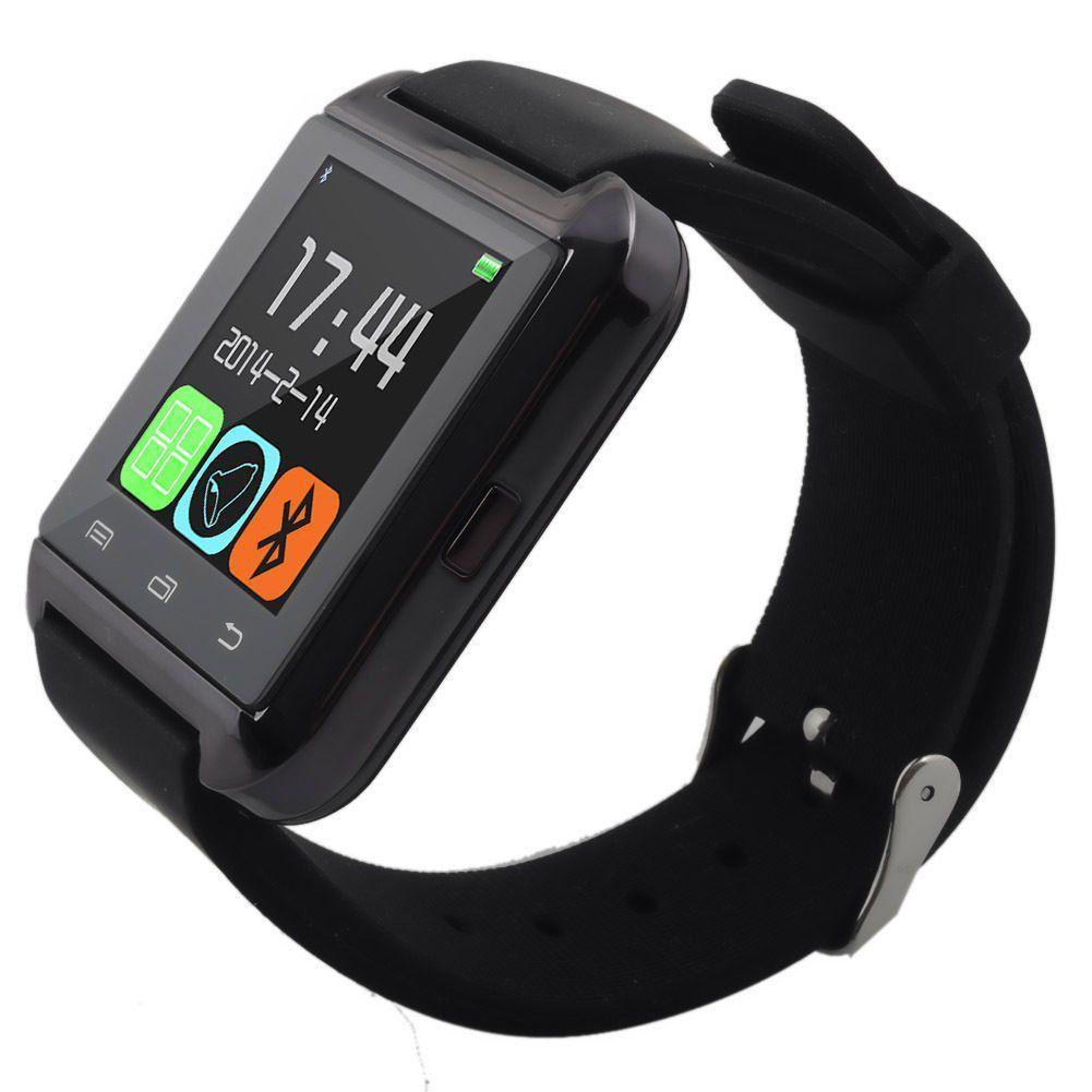 Смарт-часы Smart Watch U8 Bluetooth, камера, плеер, шагомер, whatsApp, фейсбук Black