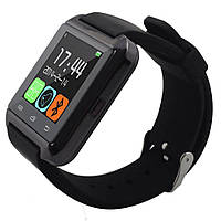Смарт-часы Smart Watch U8 Bluetooth, камера, плеер, шагомер, whatsApp, фейсбук Black, фото 1