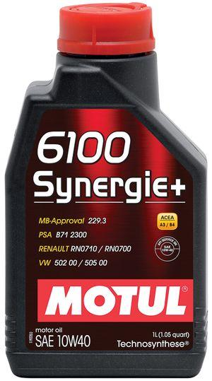 839411/6100 SYNERGIE+ SAE 10W40 (1L)/108646=102781