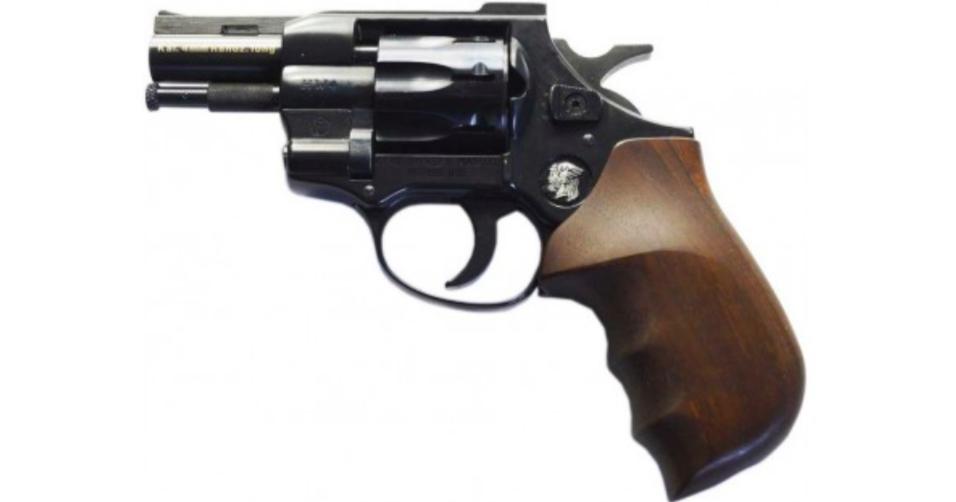 Weihrauch револьвер Флобера HW4 2,5'(дерево)