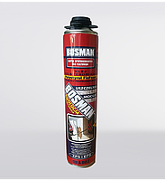 Клей-піна до пінопласту Bosman Polystyrol FixFoam 750 мл