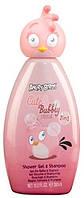 Angry Birds детский душ+шампунь (2в1)(300 мл) Cute&Bubbly