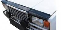 """Мухобойка (дефлектор) Lada ВАЗ 2107 с 1982 г.в. (темный) """"VL-tuning"""""""