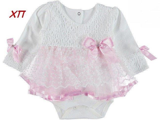 7ec78b67c9a2 Шикарное нарядное боди-платье для девочки на крещение, на праздник Турция