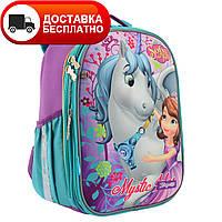 """Рюкзак каркасний H-25 """"Sofia"""" 1Вересня"""