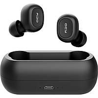 Беспроводные наушники QCY QS1 (T1C) TWS, Bluetooth 5.0, Стерео, Микрофон, Активное шумоподавление, Защита IPX4, фото 1