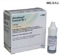 ACCUTREND контроль TG 1 (1x1,5 ml)
