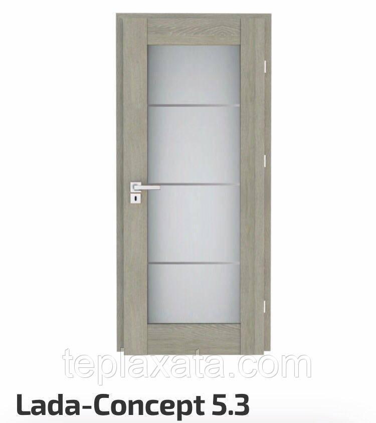 Міжкімнатні двері VERTO Lada CONCEPT 5.3, Lada NOVA 6А.1