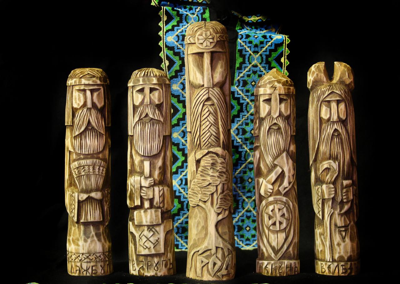 Ідоли-статуетки слов'янських богів - сувенір-подарунок для Вас або Ваших близьких, фото 1