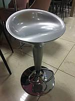 Барный стул В-01, серебряный
