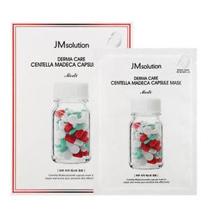 Успокаивающая тканевая маска JM Solution Derma Care Centella Repair Capsule Mask Medi