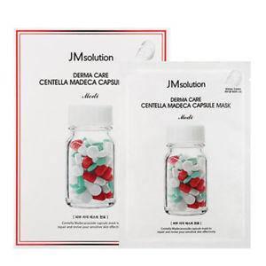 Успокаивающая тканевая маска JM Solution Derma Care Centella Repair Capsule Mask Medi, фото 2