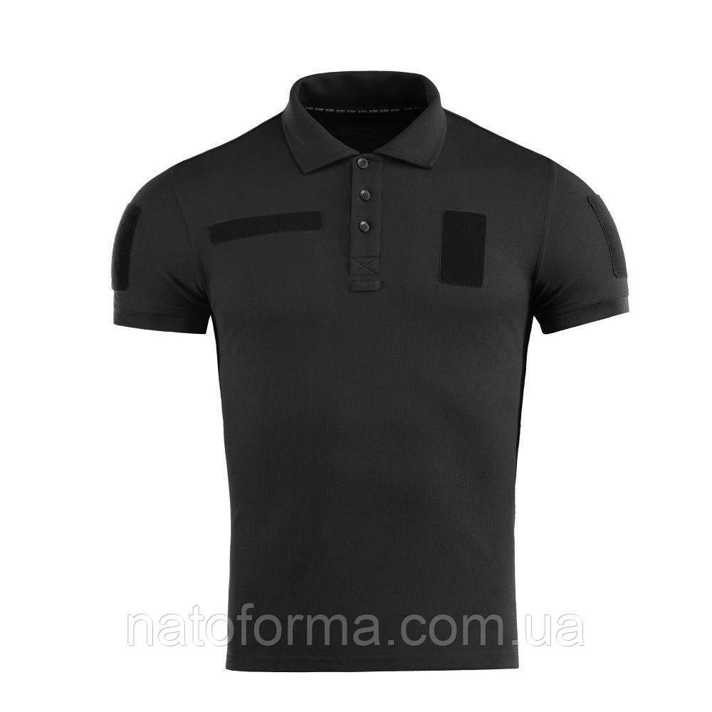 Тактическая футболкаполо Coolpass®, Police, черный