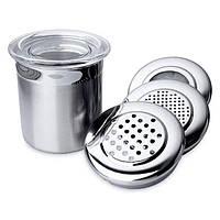 Набор банок с крышками для сыпучих продуктов BergHOFF 8х9 см 4 шт 1106441