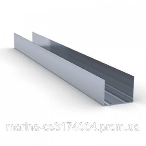 Knauf Профиль  UW-50 (0,6мм) 3м