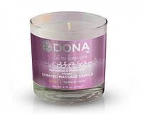 Массажная свеча DONA Scented Massage Candle Tropical Tease SASSY (135 г)