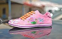 """Кеды """"Лилия стрекоза"""" IK-520 (розовый), фото 1"""